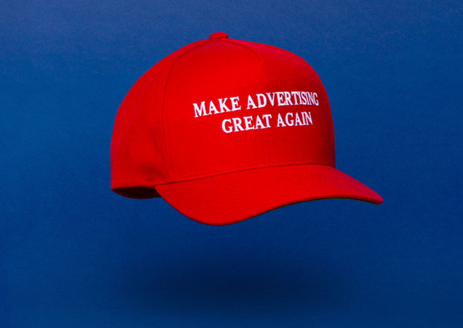 Advertising Age Cover Competition: Make Advertising Great Again